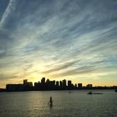 Boston Harbor by Stephanie Hatch Leishman